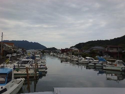 西舞鶴の漁港